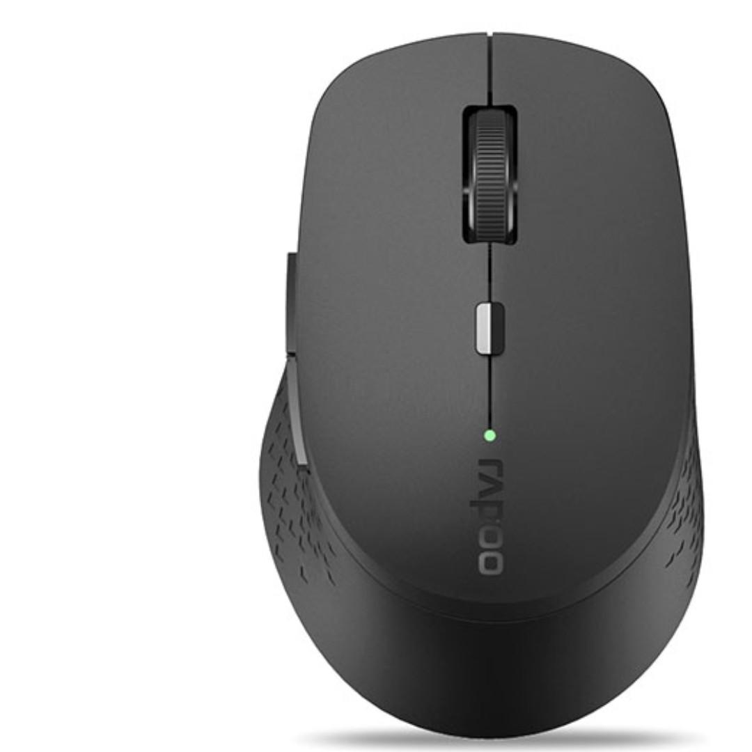 f5e0db8b9a5 Rapoo M300 Silent Tri Mode Silent Wireless Mouse - Grey Singapore