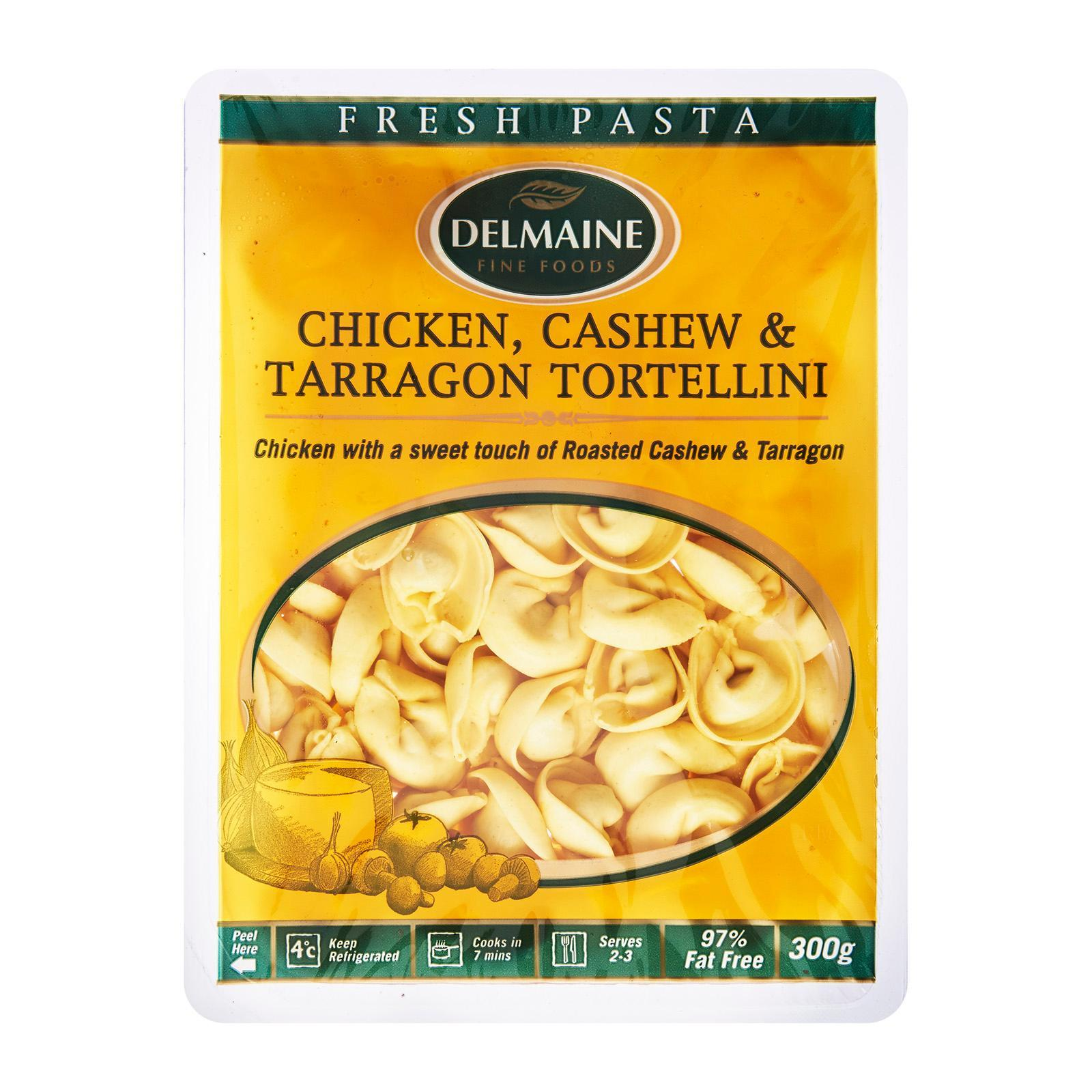 Delmaine Chicken/cashew And Tarragon Tortellini Filled Pasta By Redmart.
