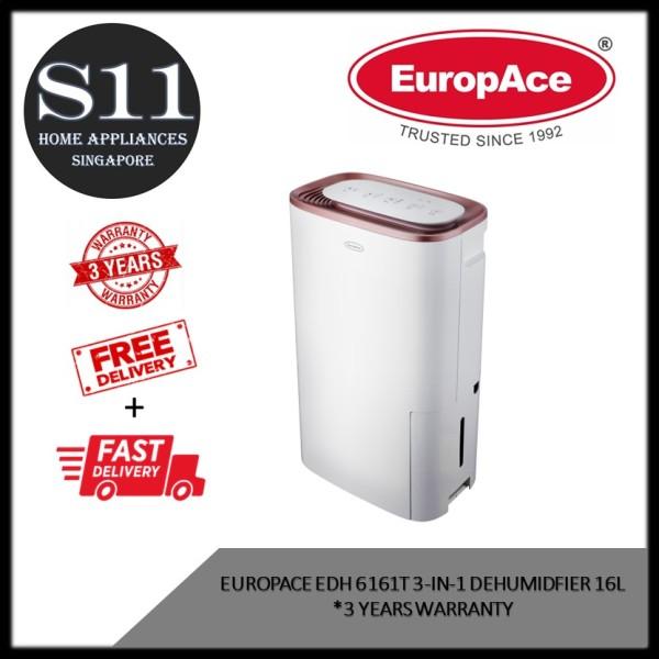 EUROPACE EDH 6161T 3-IN-1 DEHUMIDIFIER (16L)  - 3 YEARS WARRANTY - BULKY Singapore