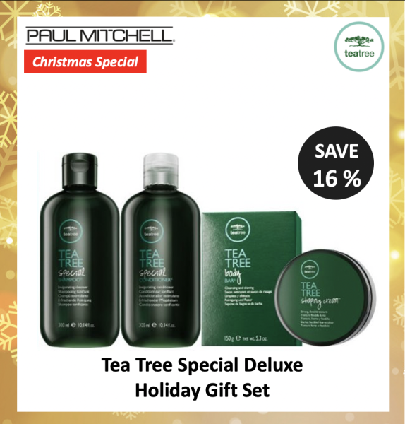 Buy [Bundle] Paul Mitchell Tea Tree Special | Shampoo | Conditioner | Body Bar | Shaping Cream (4in1) Singapore