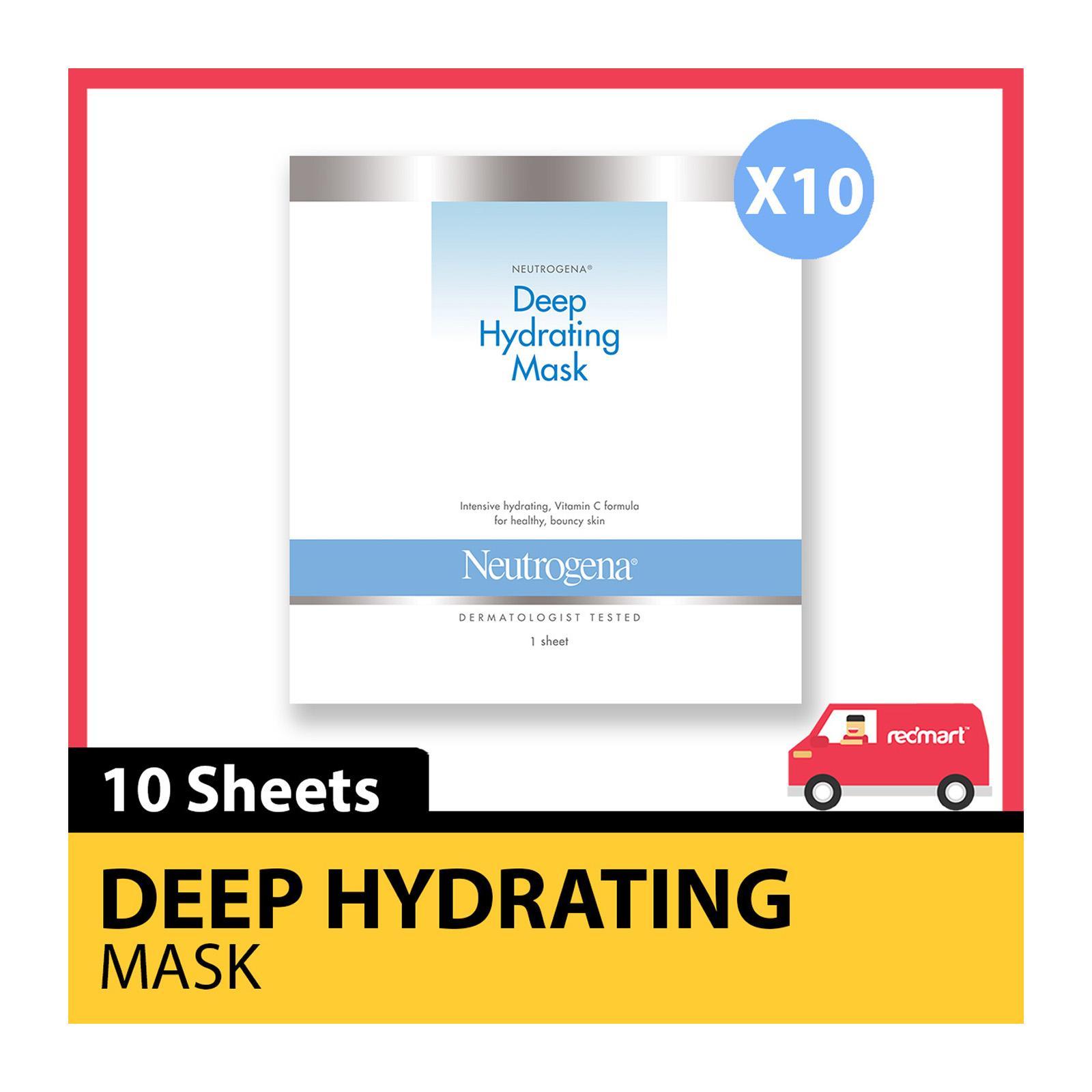 Neutrogena Deep Hydrating Mask - Bundle of 10