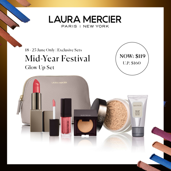 Buy [Mid-Year Special] Laura Mercier Glow Up Set at $119 Singapore