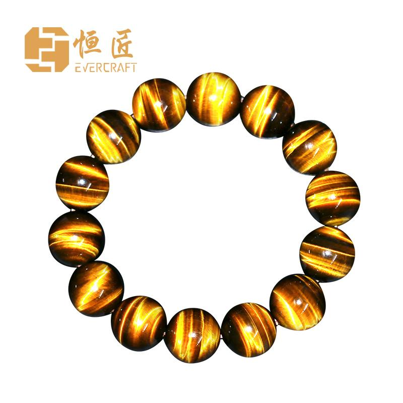 Constant Cegar Yellow Tigers Eye Bracelets Eye Tiger Eye Stone Men And Women Couples Single Loop Bracelets Crystal Fashion Gift By Taobao Collection.