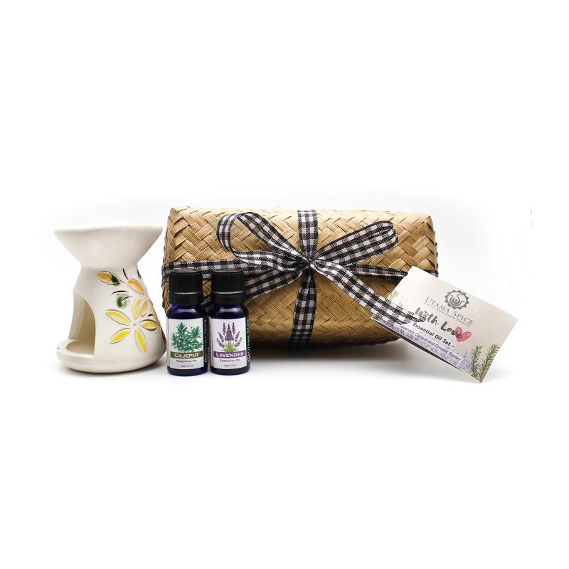 Buy Utama Spice With Love Gift Set (Diffuser 2 Essential Oils) Singapore