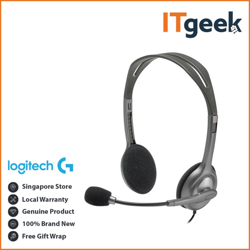 Logitech H110 Stereo Headset Singapore