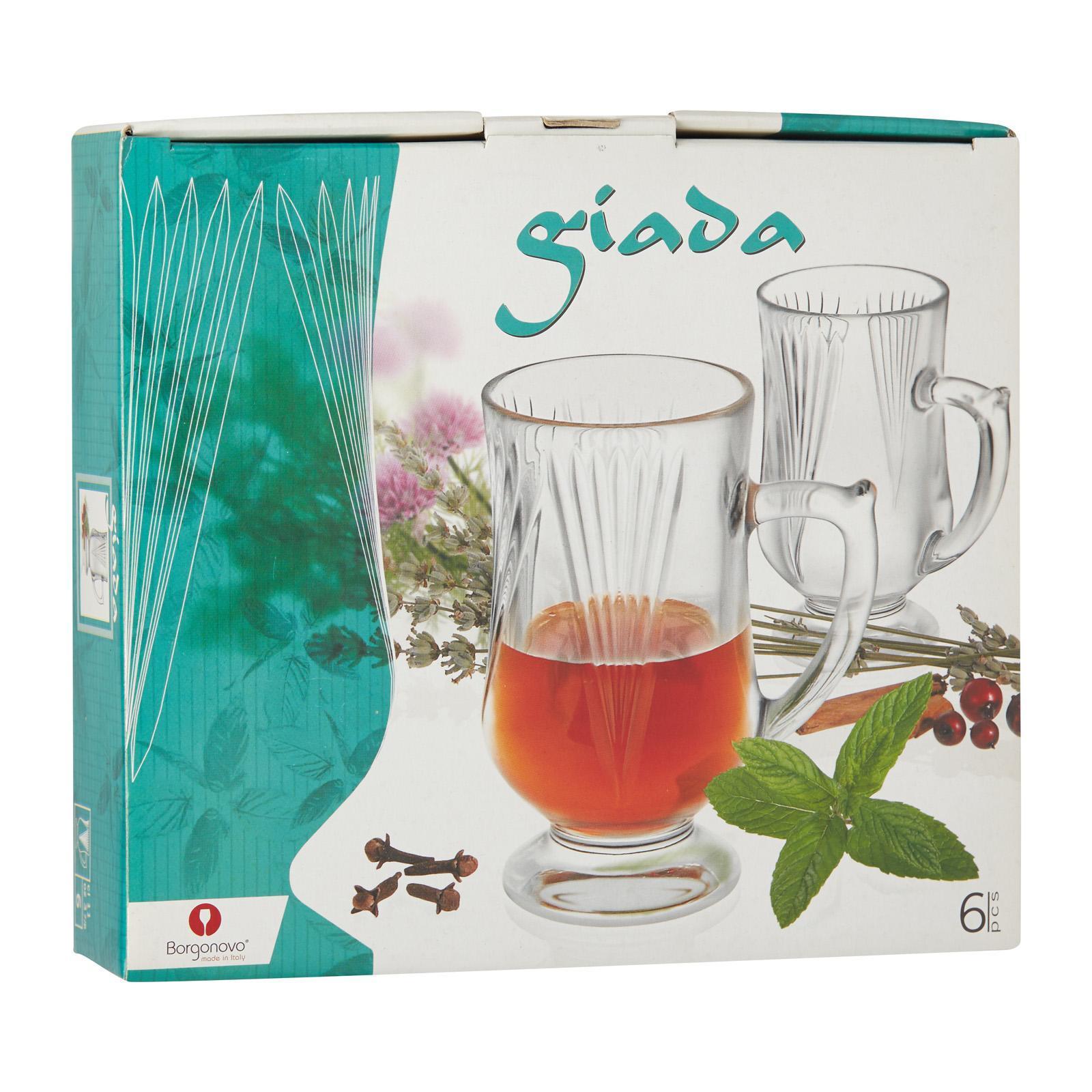 Borgonovo Giada Footed Mug 11Cl (6 Pieces)