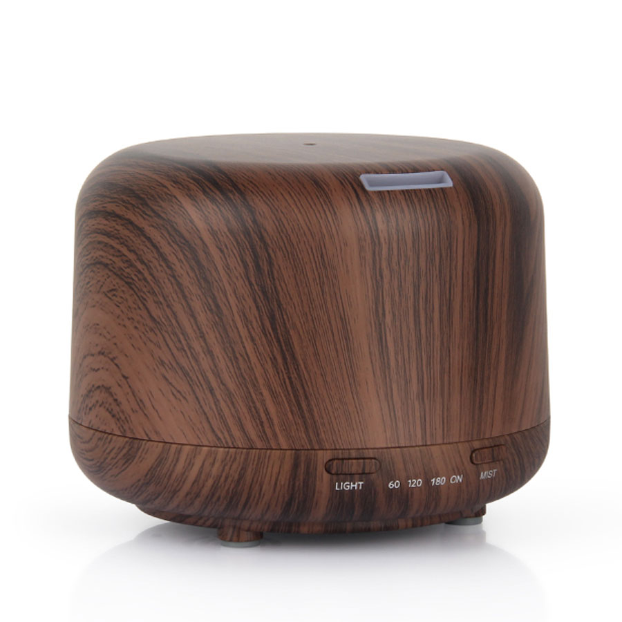 Ultrasonic Light/Dark Wood Mist Diffuser 250ml