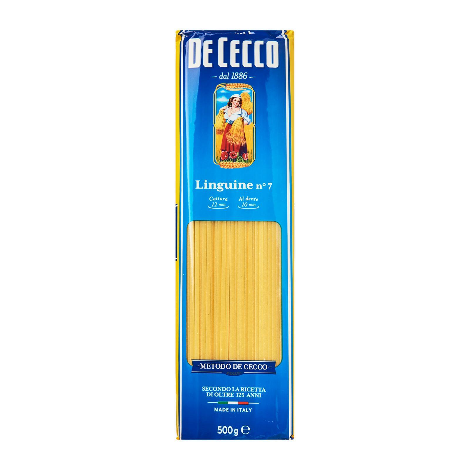 De Cecco Linguine By Redmart.