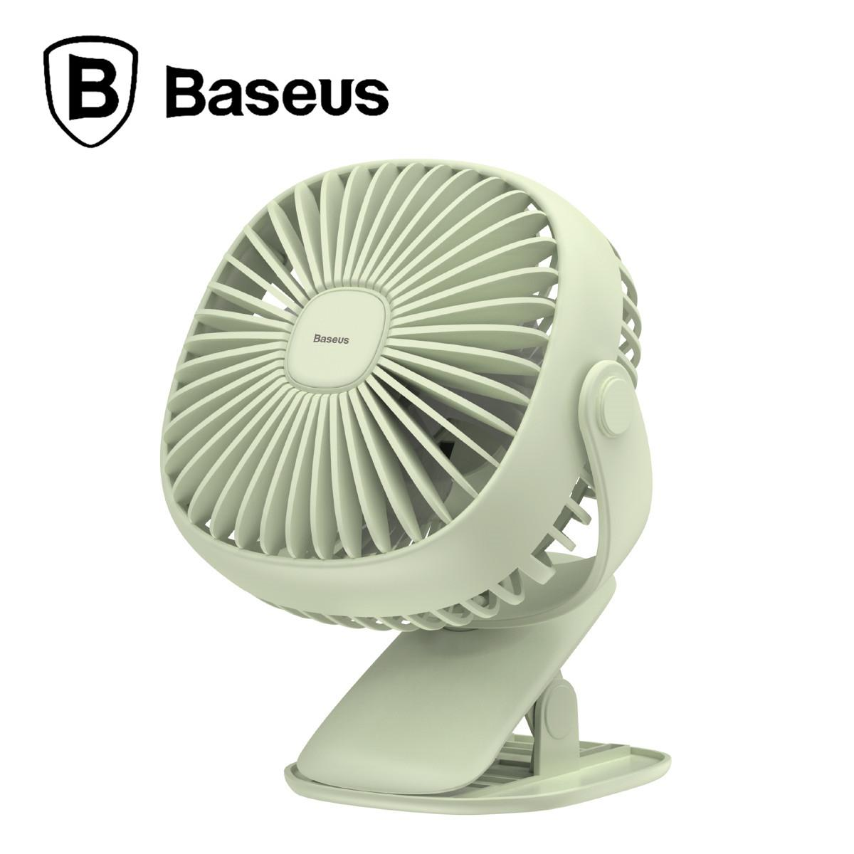 Baseus Box Clamping Fan Mini Usb Rechargeable Air Cooling Fan Clip Desk Fan By Gxm Gadgets.