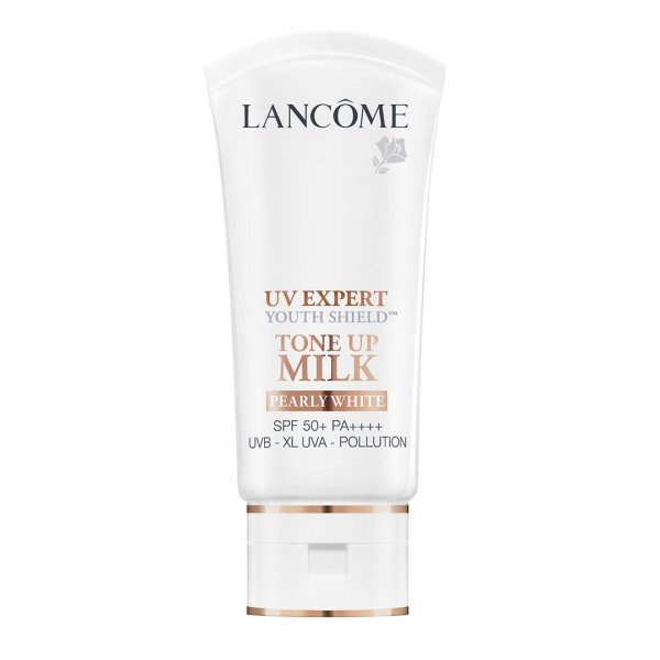 Buy [BeauteFaire] Lancome UV Expert Youth Shield Tone Up Milk Pearly White SPF 50+ PA++++ 30ml Singapore