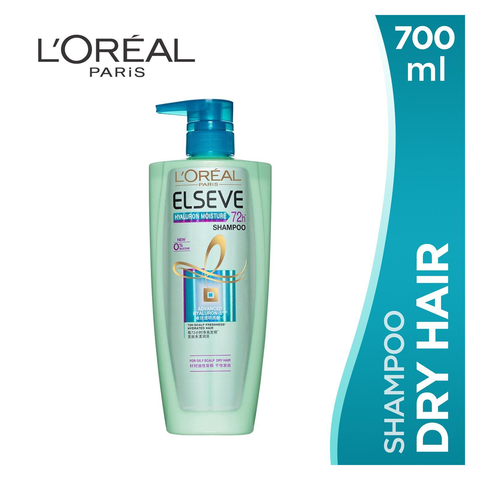 ELSEVE Hyaluron Moisture - Shampoo Oily Scalp 700ml