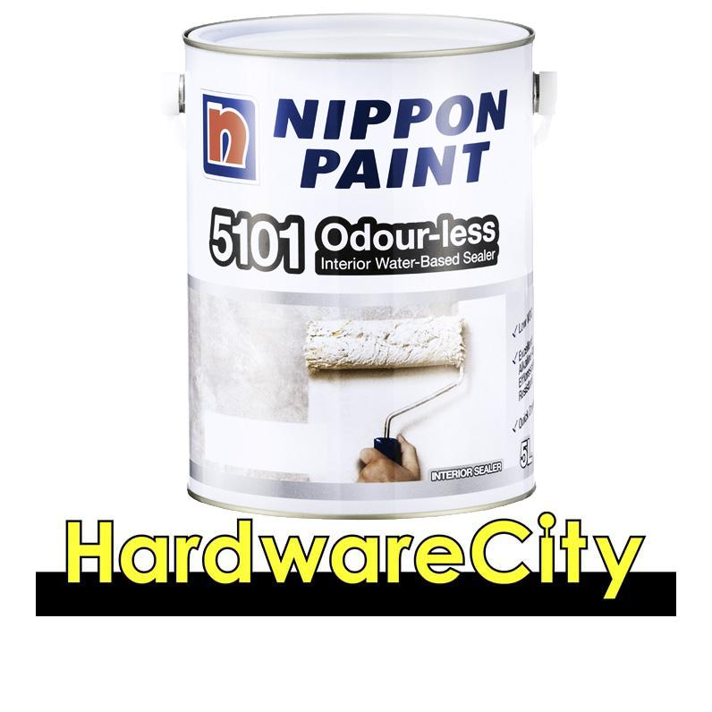 Nippon Paint 5101 Odour-Less Interior Water-Based Sealer (1l / 5l) By Hardwarecity Online Store.