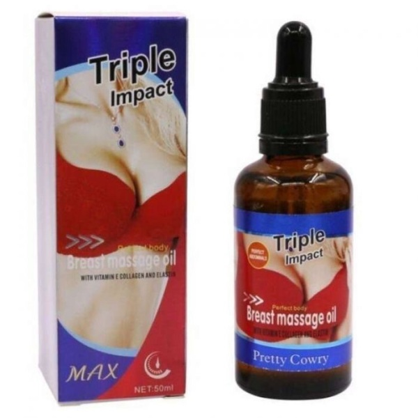 Buy Triple Impact Breast Massage Oil Singapore