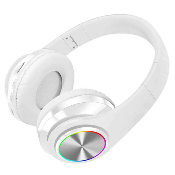 [SG Local Stock]Wireless Bluetooth 5.0  HIFI Headphones Over the Ear Foldable Headphones Stereo Music Headset with Microphone Built in Mic Singapore