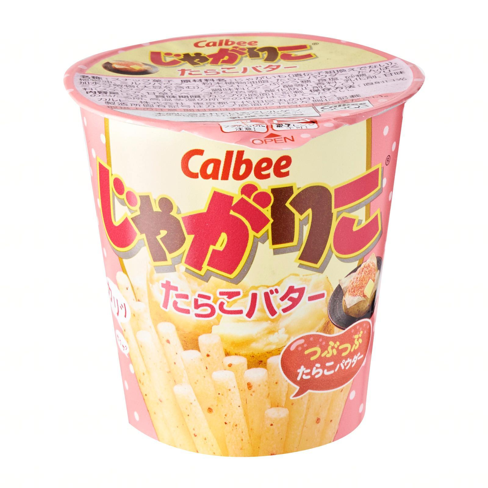Calbee Tarako Butter Jagarico Potato Fries