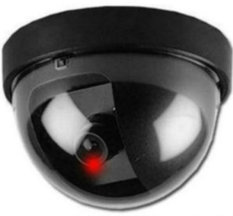 Compare Prices For Dummy Monitor Camera Cctv Security W Flashing Red Light Black Colour