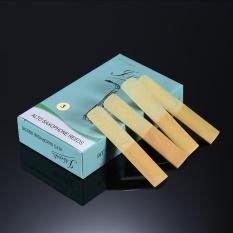 10pcs/ Box Eb Alto Saxophone Sax Bamboo Reeds Strength 3.0 - intl