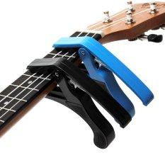 Discount 1Pcs Acoustic Electric Guitar Ukulele Capo Single Handed Tune Clamp Intl Oem