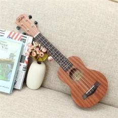 21 Soprano Vintage Ukulele 15 Frets 4 Strings Guitar Musical Wood Instrument Intl Deal