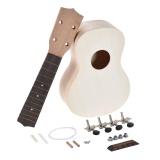 Price 21In Soprano Ukelele Ukulele Hawaii Guitar Diy Kit Maple Wood Body Neck Rosewood Fingerboard With Pegs String Bridge Nut Intl Not Specified