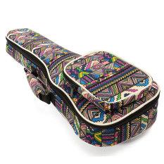 Deals For 23 Canvas Soprano Ukulele Concert Ukulele Shoulder Back Gig Bag Case Intl