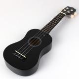 2Pcs Beginners Ukulele Uke Mahalo Style Ukelele Soprano Ukulele Musical Instrument Black Free Shipping