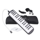 32 Piano Keys Melodica Musical Education Instrument For Beginner Kids Children Gift With Carrying Bag Black Intl Shopping