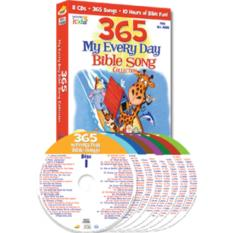 365 My Every Day Bible Song Collection (Audio CD)
