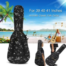 Purchase 39 40 41 Acoustic Guitar Double Straps Padded Guitar Soft Case Gig Bag Backpack Intl