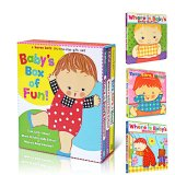 3Pcs Books Set Original Baby S Box Of Fun A Karen Katz Lift The Flap Gift Set 3 Books Where Is Baby S Bellybutton Where Is Baby S Mommy Toes Ears Nose Intl On China