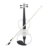 Who Sells The Cheapest 4 4 Wood Maple Electric Violin Fiddle Stringed Instrument With Ebony Fittings Cable Headphone Case For Music Lovers Beginners Intl Online
