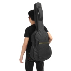 Price Comparisons For 40 41 Acoustic Guitar Double Straps Padded Guitar Soft Case Gig Bag Backpack Black Intl