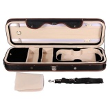 Top Rated 4 4 Violion Box Violin Case With Humidity Table Straps Locks Waterproof Intl