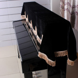 Price 88 Key Electronic Piano Keyboard Cover Pleuche Fastener Tape Decorated With Fringes Beautiful Singapore