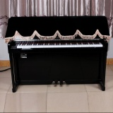 Review 88 Key Electronic Piano Keyboard Cover Pleuche Fastener Tape Decorated With Fringes Beautiful Intl Not Specified On Singapore
