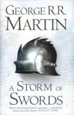 A Storm of Swords (Hardback reissue) (Author: George R. R. Martin, ISBN: 9780007459469)