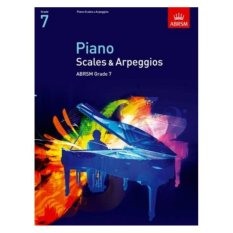 ABRSM Grade 7 Piano Scales & Broken Chords - Piano Book - Music Book - Absolute Piano - The Music Works Store MB1