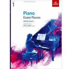 Price Authorized Seller Abrsm Piano Exam Pieces 2017 2018 Grade 1 Abrsm Online