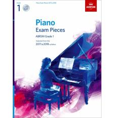 Abrsm Piano Exam Pieces 2017 2018 Grade 1 With Cd In Stock
