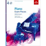 Discount Abrsm Piano Exam Pieces 2017 2018 Grade 4 With Cd Abrsm