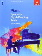 ABRSM Piano Specimen Sight-Reading Tests Grade 1 - Piano Book - Music Book - Absolute Piano - The Music Works Store MB1