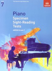 ABRSM Piano Specimen Sight-Reading Tests Grade 7 - Piano Book - Music Book - Absolute Piano - The Music Works Store MB1