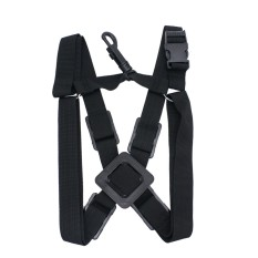Adjustable Alto Tenor Soprano Sax Saxophone Harness Chest Shoulder Strap Durable By Tomtop.