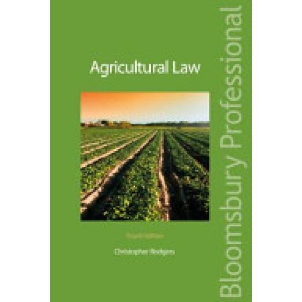Agricultural Law (Author: Christopher Rodgers, ISBN: 9781847669483)