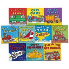 Amazing Machines: Truckload of Fun 10-Book Set
