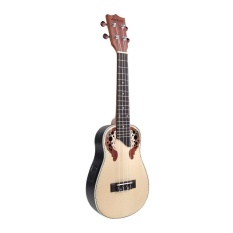 Sale Andoer 23 Compact Ukelele Ukulele Hawaiian Spruce Rosewood Fretboard Bridge Aquila Concert Stringed Instrument With Built In Eq Gig Bag Strap Intl Not Specified Original