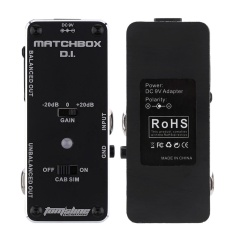 Sale Aroma Amx 3 Matchbox D I Transfer Guitar Or Bass Signal Directly To Audio System Mini Analogue Effect Pedal True Bypass Intl China Cheap