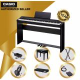 Store Authorized Seller Beginner Casio Px 160 Bk Privia Digital Piano Black With Height Adjustable Bench And Keyboard Stand Casio On Singapore