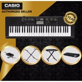 Top Rated Authorized Seller Casio Ctk 2400 61 Keys Standard Keyboard Piano With Casio Original Keyboard Stand Cs2X And Gator Keyboard Cover Gkc1540 And Keyboard Bench