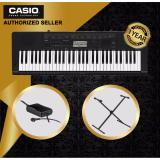 Top 10 Authorized Seller Casio Ctk 3500 61 Keys Standard Keyboard Piano And Casio Original Keyboard Stand Cs2X